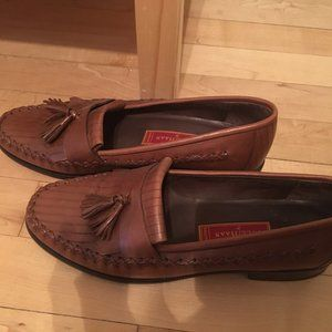Cole Haan Brown Leather Loafers w/tassel Womans8.5